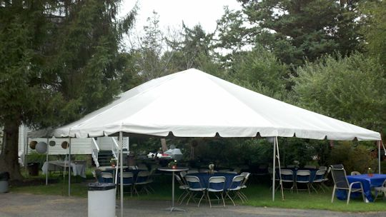 30 x 40 frame tent for wedding