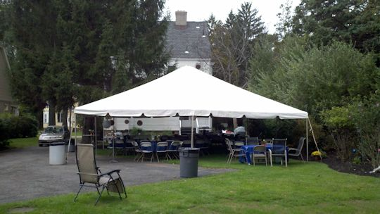 30 x 40 frame tent for wedding north caldwell