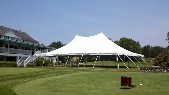 40 x 60 white tension tent