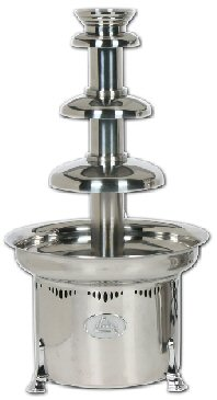 Polished Stainless 10# Chocolate Fountain