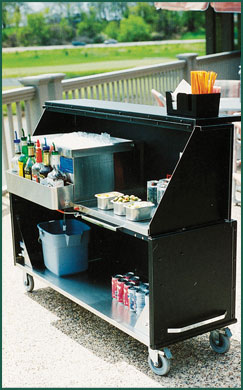 Stow-Away Portable Bar