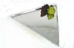 "18"" Triangle Aluminum Trays"