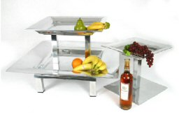 Three Tiered Versatility Tray Use Separate or Together