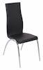 Black Stacking Parsons Chair