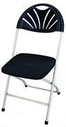 Black Round Back Dining Height Chair