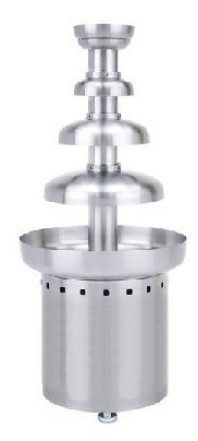 Brushed Stainless 10# Chocolate Fountain