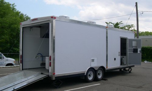 24' Long Kitchen Trailer