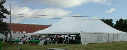 Elite High Tension Pole Tents 60u0027 x 60u0027 - 60u0027 x 120u0027 & Party Center