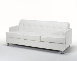 Snow White Leather Sofa
