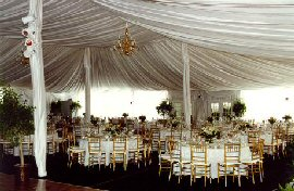 We can also equip your tent with dance floor lighting heating artificial turf sidewalls and french doors. & Party Center